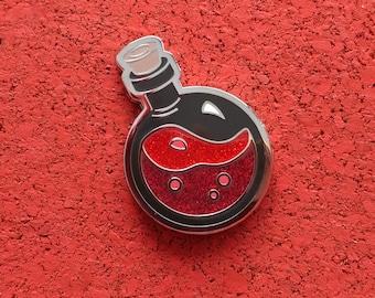 Mega Potion of Healing, Hard Enamel Brass Lapel Pin