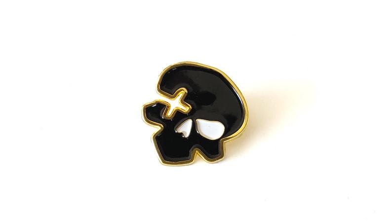 McCree Deadeye Brass Enamel Pin image 0