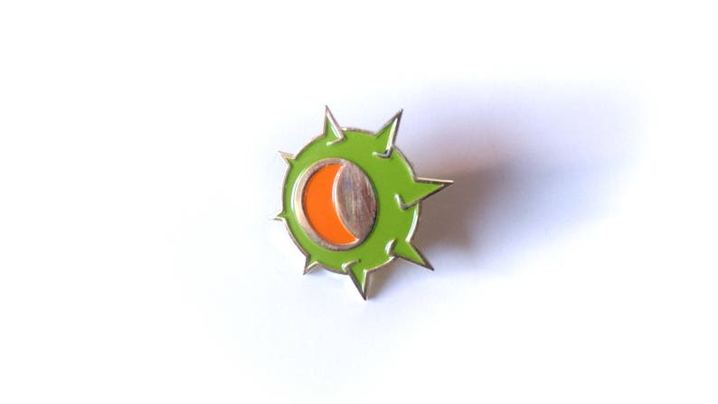 Junkrat Riptire Brass Enamel Pin image 0