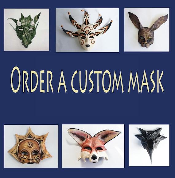 unique design extra large Custom Mask Commission special order