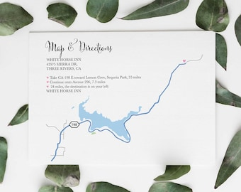 Custom wedding map | Etsy on