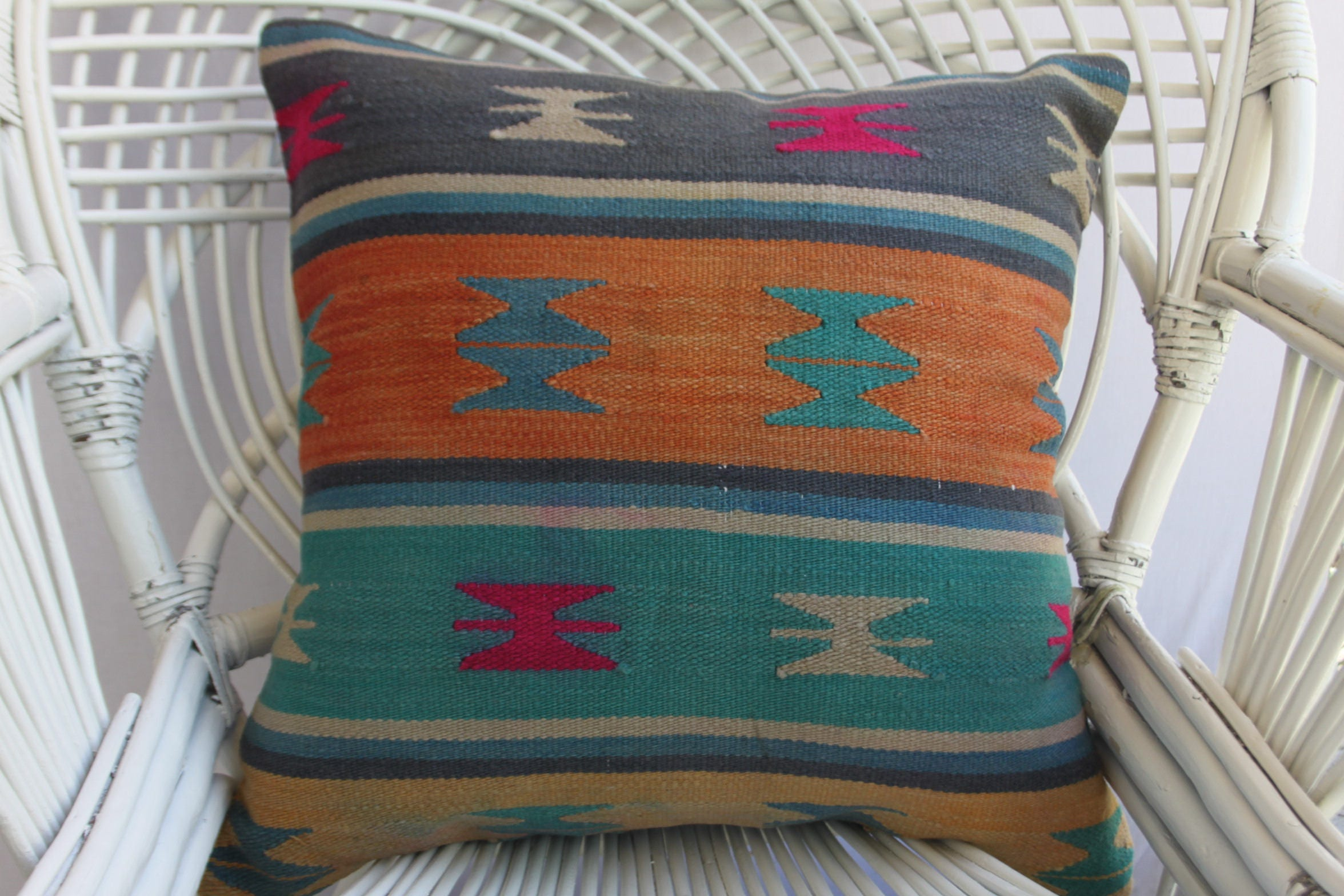 Not rough soft kilim pillow turkish kilim pillow decorative etsy