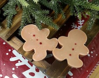 Gingerbread Men Soy Wax Melts - Great stocking stuffers