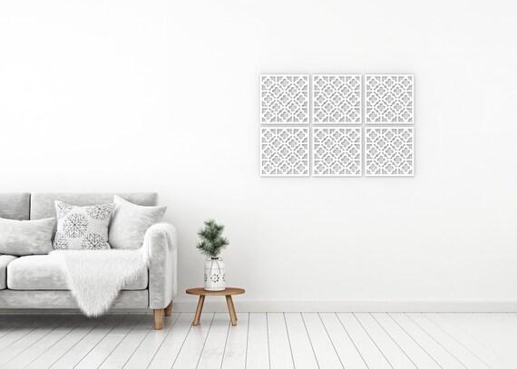 Houten Wandpanelen Slaapkamer : Marokkaanse houten handgemaakte decoratie wandpanel kamer etsy