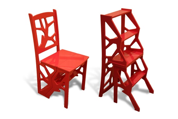 Admirable Step Stool Chair Chair Ladder Step Ladder Foot Stool Wood Step Stool Kitchen Step Stool Andrewgaddart Wooden Chair Designs For Living Room Andrewgaddartcom