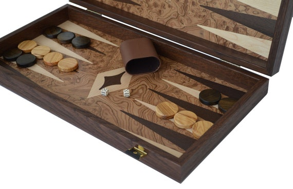 """Vintage Backgammon Replacement Checkers 1 1//4/"""" Brown /& White Pieces You Pick"""
