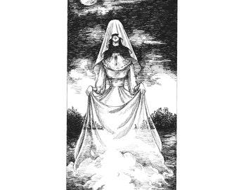Fine Art Print / Folklore and Fairytales / Fantasy Artwork: Ghost