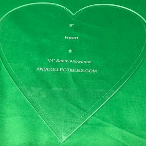 Choice of size Acrylic Octagon Template by finished size after 14 seam allowance by AnbCollectibles 3-4 1516
