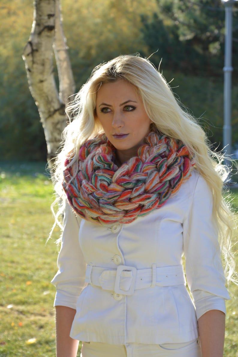 f55b75229a Sciarpa di maglia grosso, Chunky maglia sciarpe, Super grosso infiniti  sciarpe Chunky sciarpa Infinity scarf sciarpa Mohair Sciarpa di maglia,  regalo ...