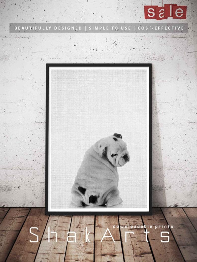 Bulldog Dog Lovers Gifts English Art Lover Gift