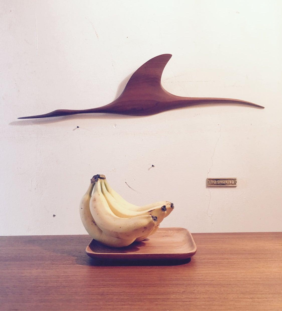 Feine Teak Obst Schale Im Danish Design // Gefertigt Aus