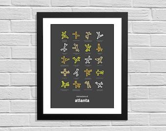 Intersections of Atlanta