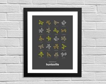 Intersections of Huntsville