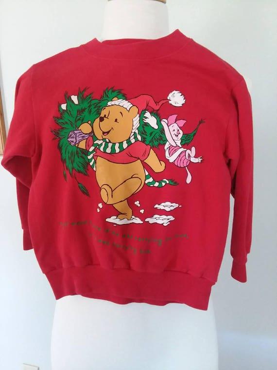 Winnie The Pooh Christmas Sweater 2