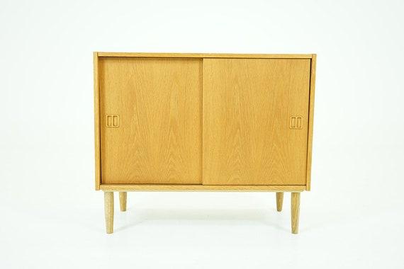 Danish Mid Century Modern Oak Sideboard 310 023 Etsy