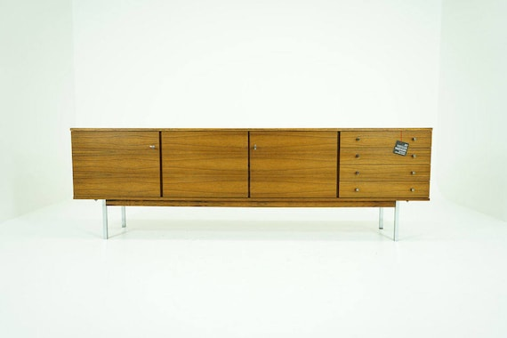 Danish Sideboard Credenza : Danish mid century modern rosewood sideboard credenza buffet etsy