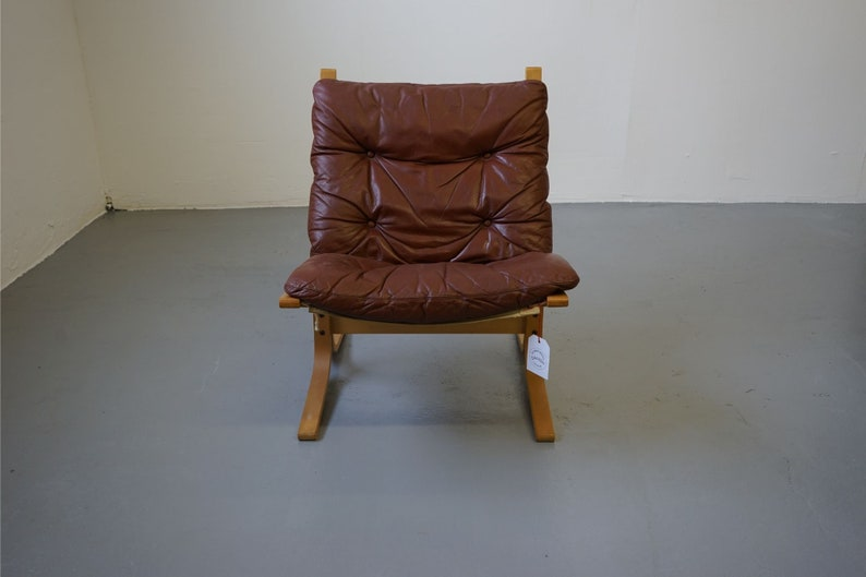 Astounding Mid Century Leather Siesta Chair By Ingmar Relling For Westnofa 311 049 Gmtry Best Dining Table And Chair Ideas Images Gmtryco