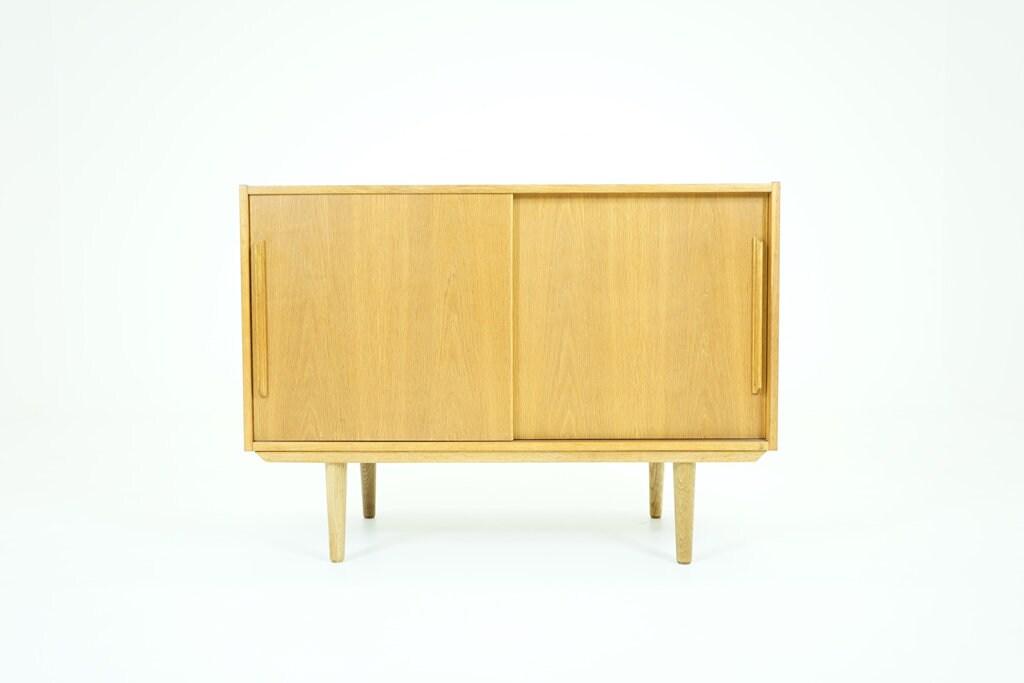 Danish Mid Century Modern Oak Sideboard 310 072 Etsy