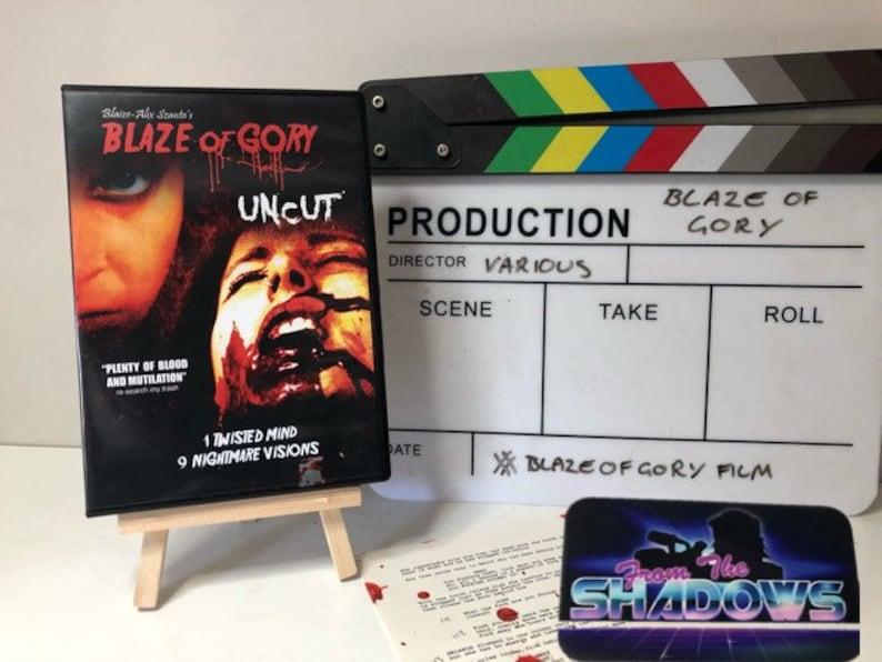 Horror dvd Blaze of Gory free uk pp image 0
