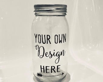 Personalized Jar Etsy