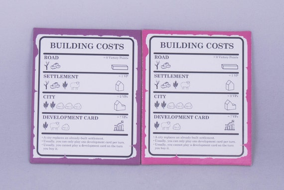 YorksGamePieces Pink Expansion Pieces Pack of Player Walls Knights and Stickers
