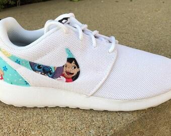 9e38eb52d543 Lilo and Stitch Custom Nike Roshe