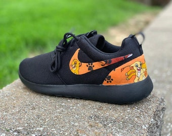 86540edf1728 Custom Lion King Nike Roshe