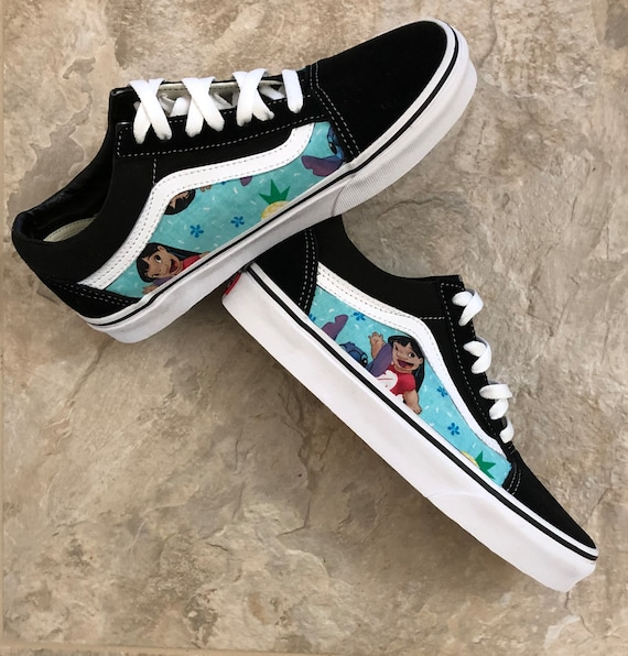 Stitch Vans Old Skool Sneakers Lilo