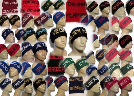 Personalized Sports Headbands Football Ear Warmers Hockey  1347848184d