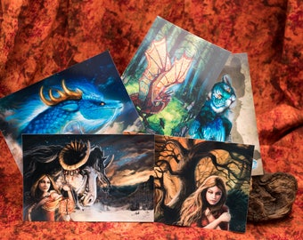 Fantasy Postcard Set