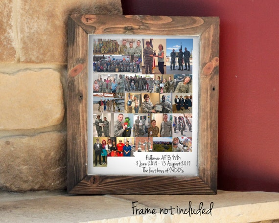 New Mexico State Map Photo Collage - Personalized New Mexico Art Decor - Custom Made with Your Digital Photographs