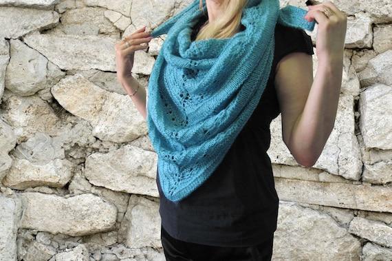 Spitze stricken Schal stricken Wrap Schal Frauen Schal Mode | Etsy