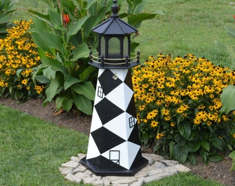 Cape Lookout, NC Lighthouse Replica FREE Shipping