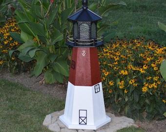 Barnegat, NJ Lighthouse Replica FREE Shipping