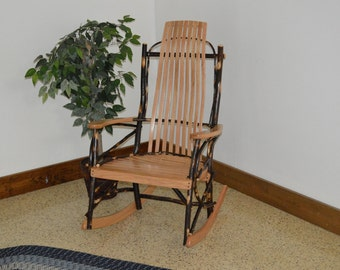 Bent Hickory Rocker - 9 Slats