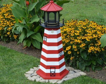 West Quoddy, ME Lighthouse Replica FREE Shipping