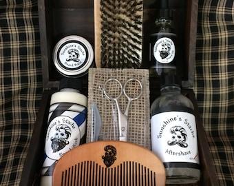Original Beard Grooming Kit Comes in Natural, Espresso, or Black