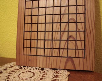 Reclaimed Wood Go board