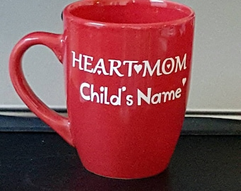 Heart Mom Mugs