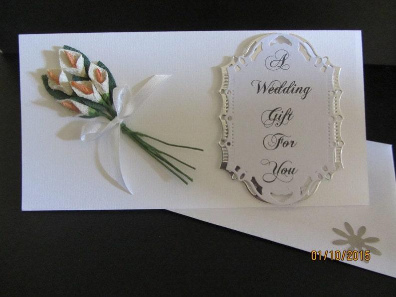 greeting card Handmade 3D  giftvoucher /& money wallet