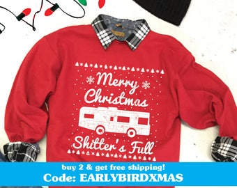 more colors christmas vacation ugly christmas sweater unisex xmas sweater cousin eddie