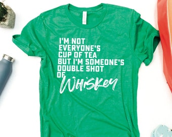 1a01a085dd3e Irish Whiskey Shirt. Whiskey Drinking shirt. St. Patricks day shirt. St. Paddy's  day tshirt. Tshirt Womens. Day drinking Tshirt.