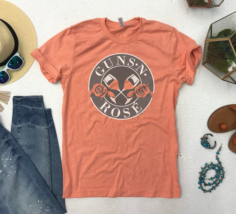 Guns N' Rose Funny Tee, Unisex, S to XXL