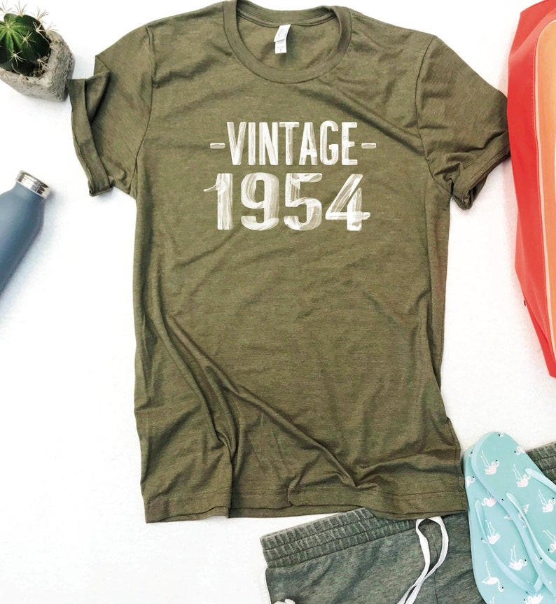 c0ffc05d264 65TH Birthday for Women Vintage 1954 Shirt 65 Birthday 65TH