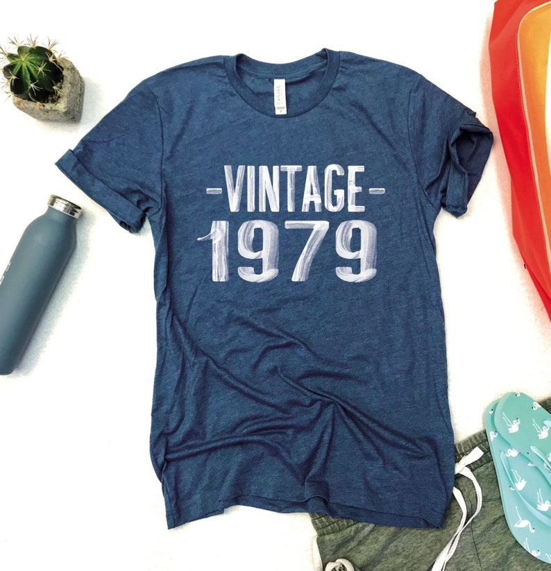 40TH Birthday For Women Vintage 1979 Shirt