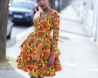 c7db03f5120 African print dress