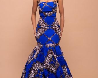Ruby Maxi dress, print dress, gathered dress, african print dress, ankara dress, maxi dress, maxi, dress, african clothing