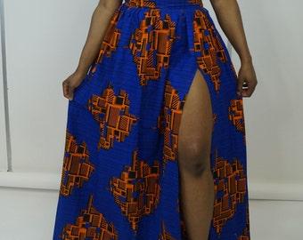 Ankara maxi skirt, gathered skirt,long skirt, skirt, retro skirt, maxi skirt