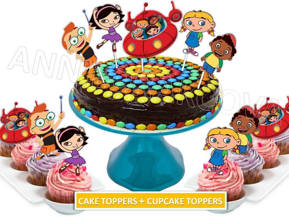 Little Einsteins Cake Toppers Little Einsteins Cupcake Etsy