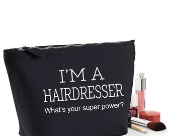 Hairdresser Thank You Gift Women/'s Make Up Accessory Bag Mothers Day